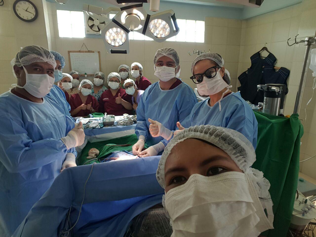 OP Kinderkrankenhaus La Paz
