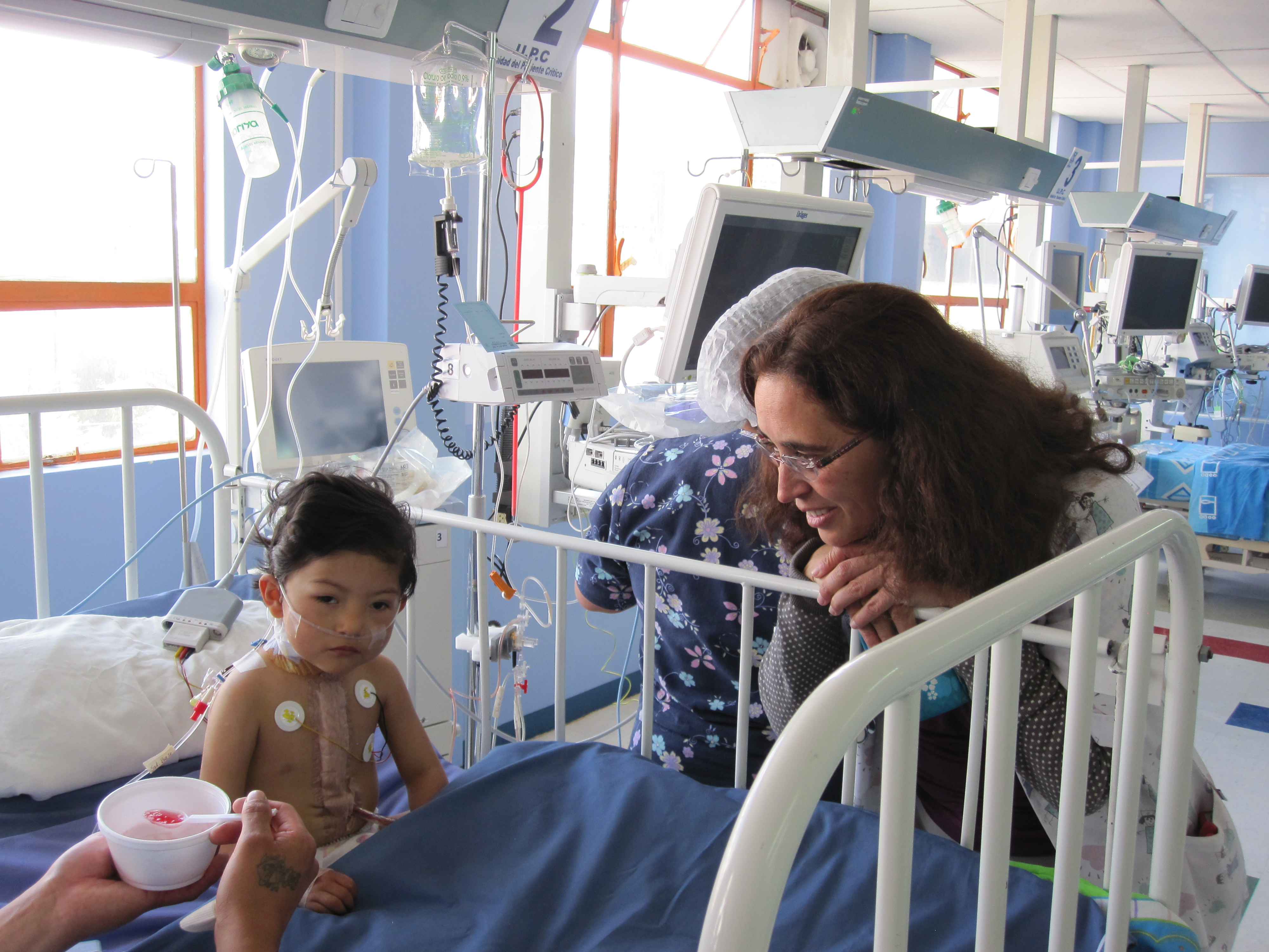 postop auf ITS Kinderkrankenhaus La Paz