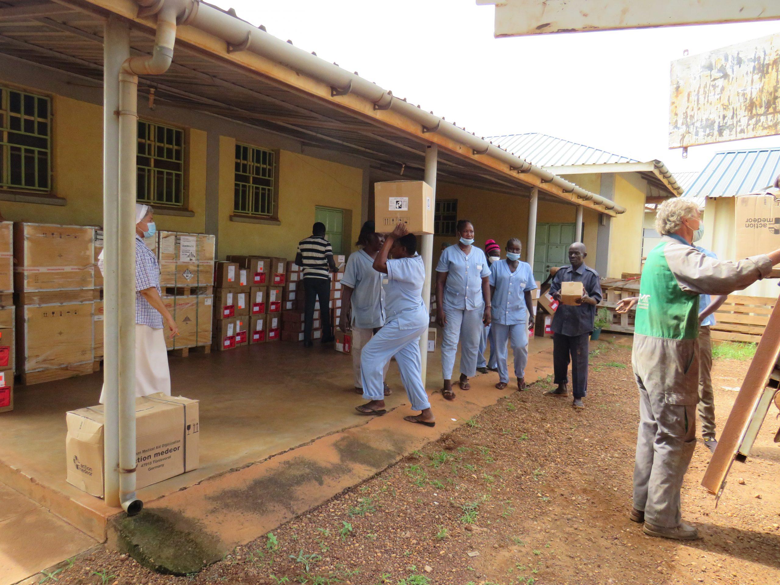 Arzneimittel für Gesundheitszentren im Südsudan
